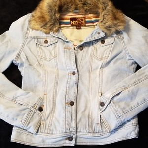 Hollister demin jacket